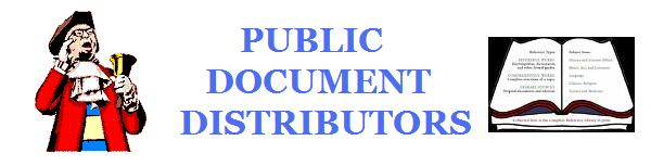 Public Document Distributors